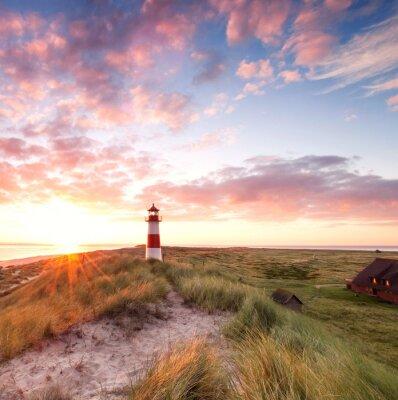 Fototapeta Lighthouse Sylt