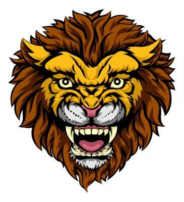 Fototapeta Lion Mascot