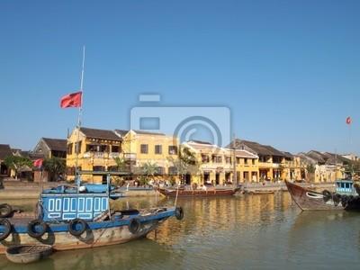 Fototapeta Listę Światowego Dziedzictwa UNESCO starożytnego miasta Hoi An, Wietnam