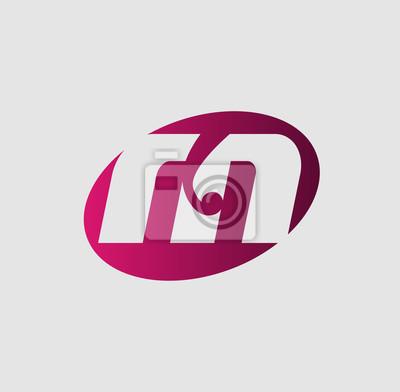 Litera M Logo Design Wektor Logo Z Literą Koncepcji Kreatywnej