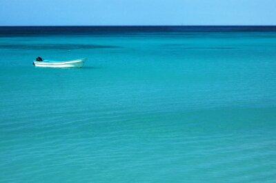 Fototapeta łodzi rybackich na morzu
