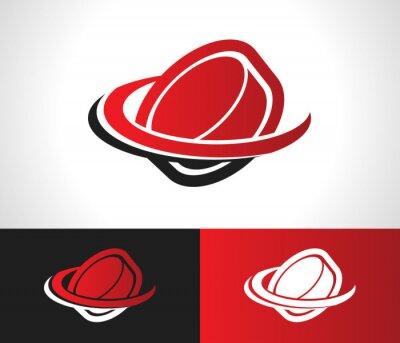 Fototapeta Logo Ikona Hockey Puck