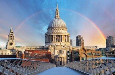 Fototapeta London - Cathedral St. Paiul, UK