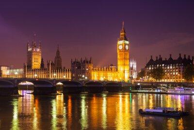 Fototapeta Londyn nocą