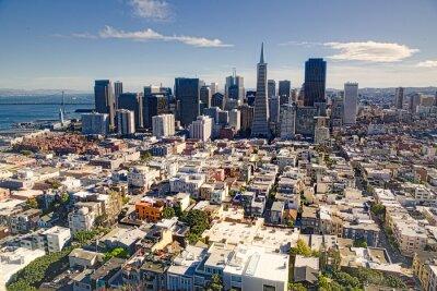 Fototapeta Lotnicze z San Francisco Skyline