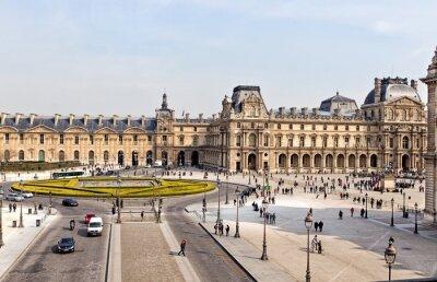 Fototapeta Luwr w Paryżu