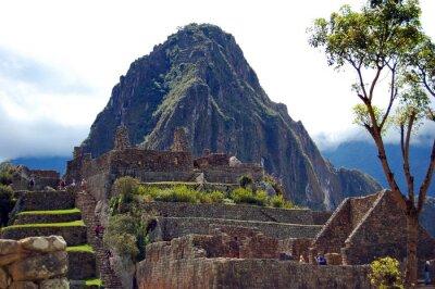 Fototapeta Machu Picchu i Huayna Picchu