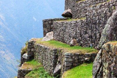 Fototapeta Machu Picchu, stare mury