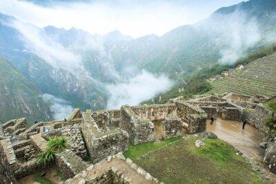 Fototapeta Machu Picchu, wpisanego na Listę Światowego Dziedzictwa UNESCO