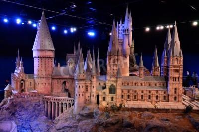 Fototapeta Makieta zamku Hogwart w Warner Brothers Studio