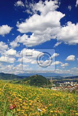 Małe miasteczko Ruzomberok, Słowacja