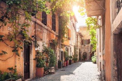 Fototapeta Malowniczej ulicy w Rzymie