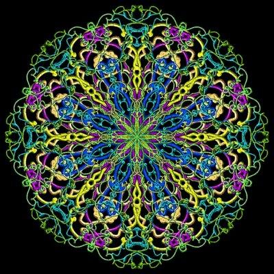 Fototapeta Mandala kolor