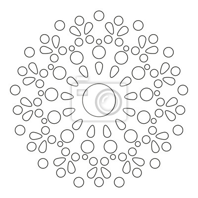 mandala round element for coloring book czarne linie na bia ym Periodic Table round element for coloring book czarne linie na bia ym tle