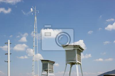 Fototapeta Meteorological mesaurements i monitoring