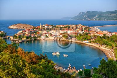Fototapeta Miasto Amasra na wybrzeżu Morza Czarnego, Turcja