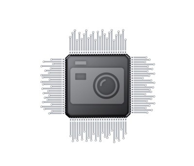 Fototapeta Microchip