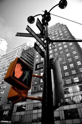 Fototapeta migające światła new york boradway