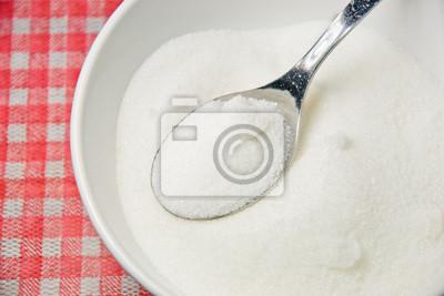 Fototapeta Miska z cukru