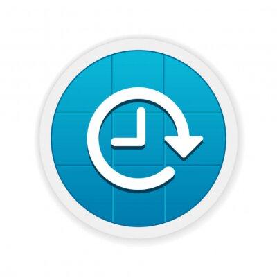 Fototapeta Modern App Button