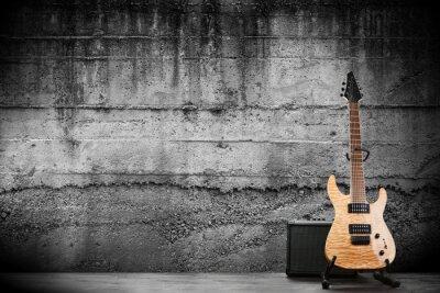 Fototapeta Modern electric guitar