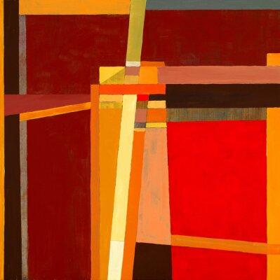 Fototapeta modernistyczne malarstwo abstrakcyjne