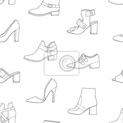 jak narysować buty męskie