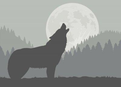 Fototapeta Moonwolf