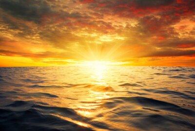 Fototapeta morza i słońca
