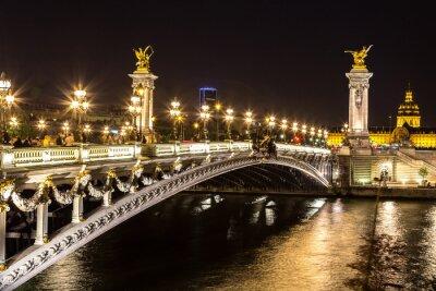 Fototapeta Most Aleksandra III w Paryżu
