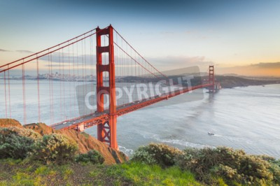 Fototapeta Most Golden Gate, San Francisco, Kalifornia, USA