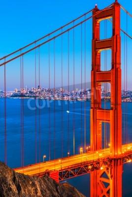 Fototapeta Most Golden Gate, San Francisco, Kalifornia, USA.