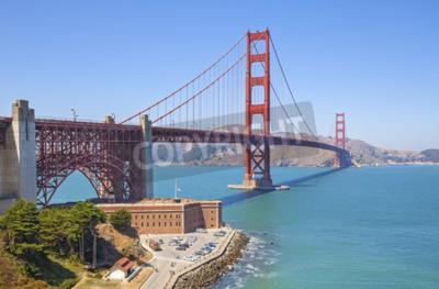 Fototapeta Most Golden Gate w San Francisco, USA.