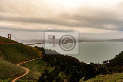 Fototapeta Most Golden Gate w San Francisco USA wiosną