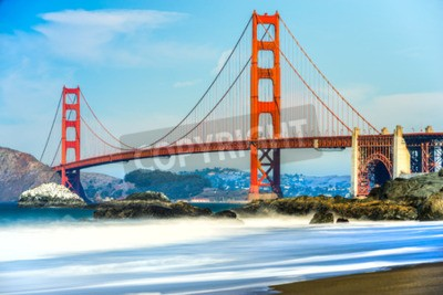Fototapeta Most Golden Gate w San Francisco w Kalifornii, USA.