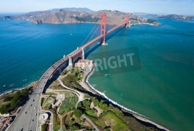 Fototapeta Most Golden Gate w zatoce San Francisco