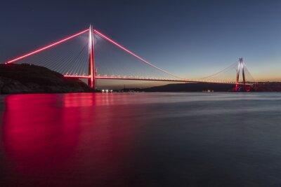 Fototapeta Most Yavuz Sultan Selim Istambuł, Turcja
