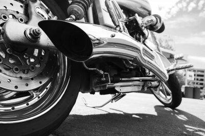Fototapeta Motocykl