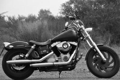 Fototapeta Motocykl - chopper