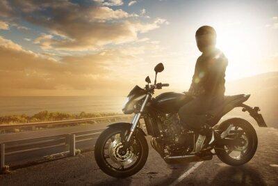 Fototapeta Motocykl na Ocean Road