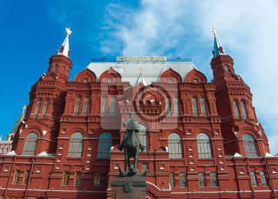 Fototapeta Muzeum Historyczne Red Square Rosja Moskwa