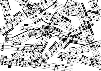 Fototapeta muzyka