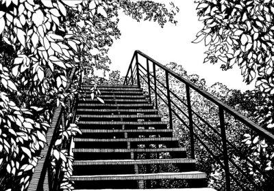 Fototapeta Na górze
