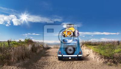 Fototapeta na plaży