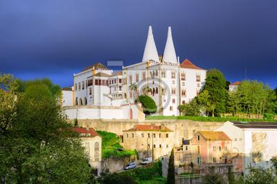 Fototapeta National Palace, Sintra, Portugalia