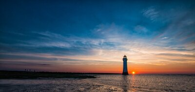 Fototapeta New Brighton Lighthouse