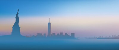 Fototapeta New York - Aube