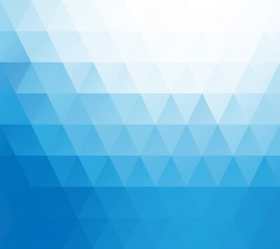 Fototapeta Niebieski Biały tło mozaiki, pień Szablony projektów