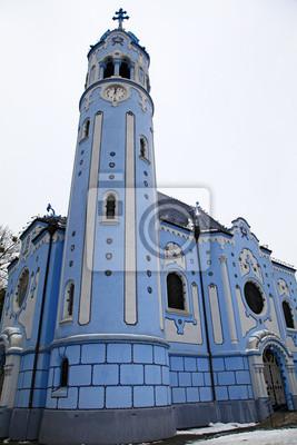 Niebieski kościół w Bratysławie, Słowacja