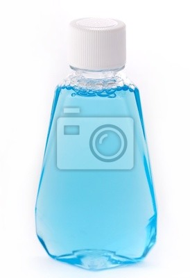 Fototapeta Niebieski płyn